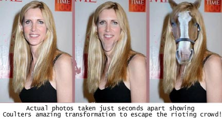 ann coulter horse face